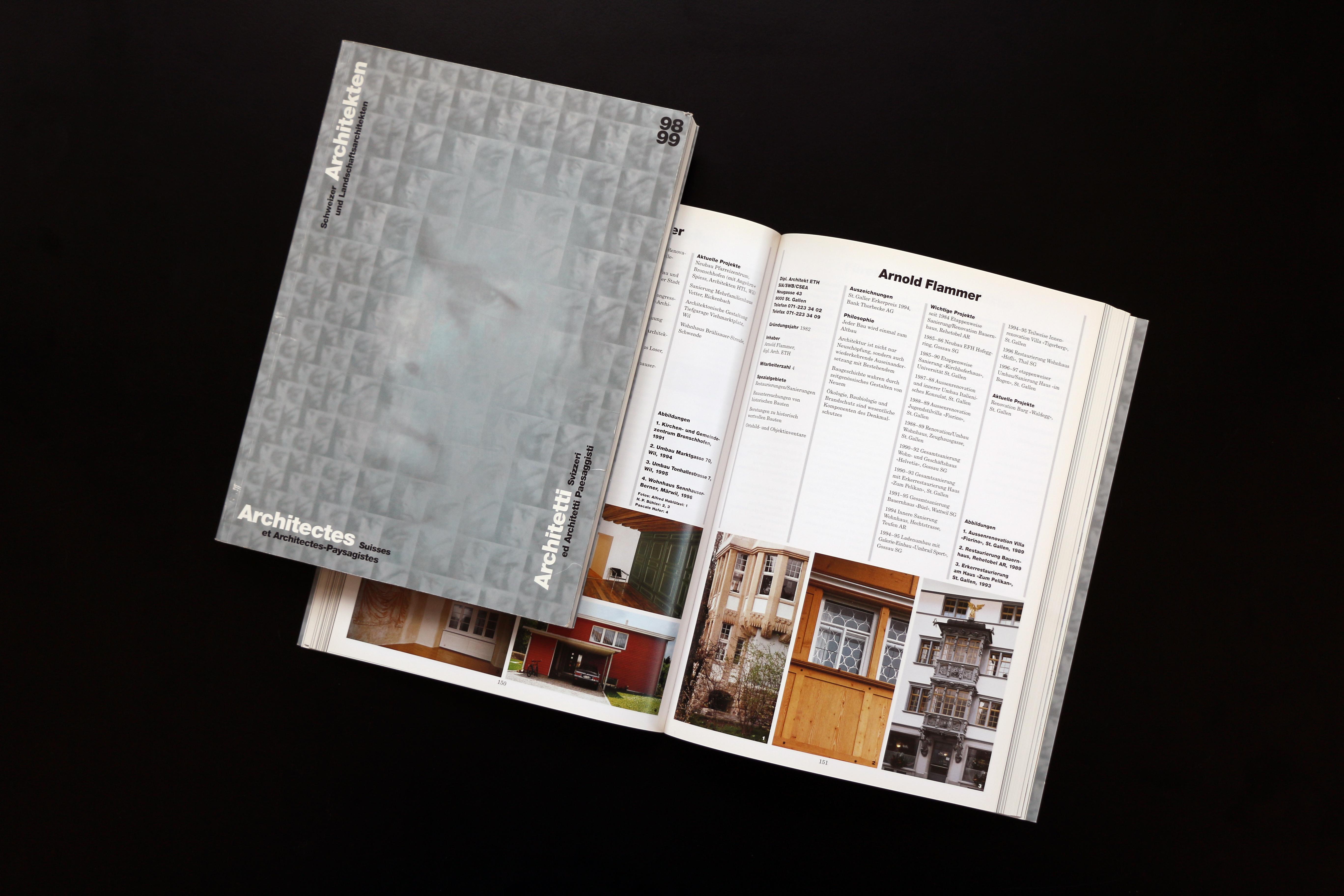 Schweizer Architekten 1998/99
